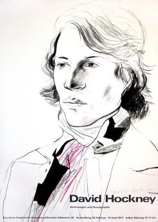 Affiche Hockney - David Hockney, Zeichnungen und Druckgraphik