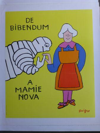 Affiche Savignac - De bibendum à mamy nova