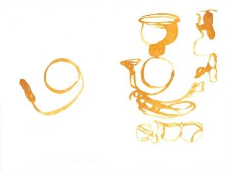 Lithographie Beuys - De la vie des abeilles (Aus dem Leben der Bienen)