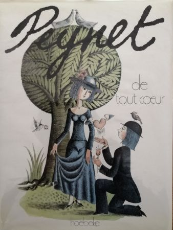 Livre Illustré Peynet - De tout coeur