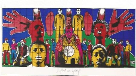 Sérigraphie Gilbert & George - Death after Life
