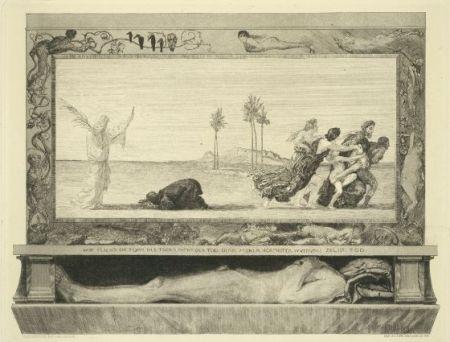Eau-Forte Et Aquatinte Klinger - Death as Savior, from the portfolio