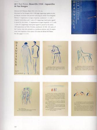 Livre Illustré Van Dongen - Deauville part 1