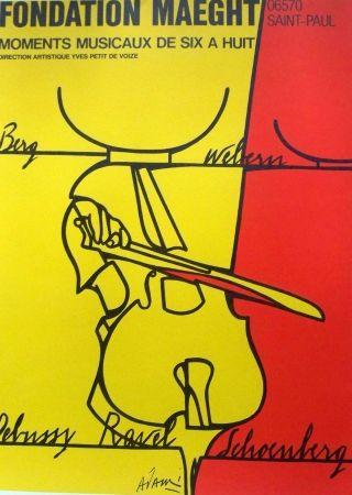 Affiche Adami - Debussy ravel schoenberg