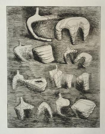 Gravure Moore - Deconstructed Figures