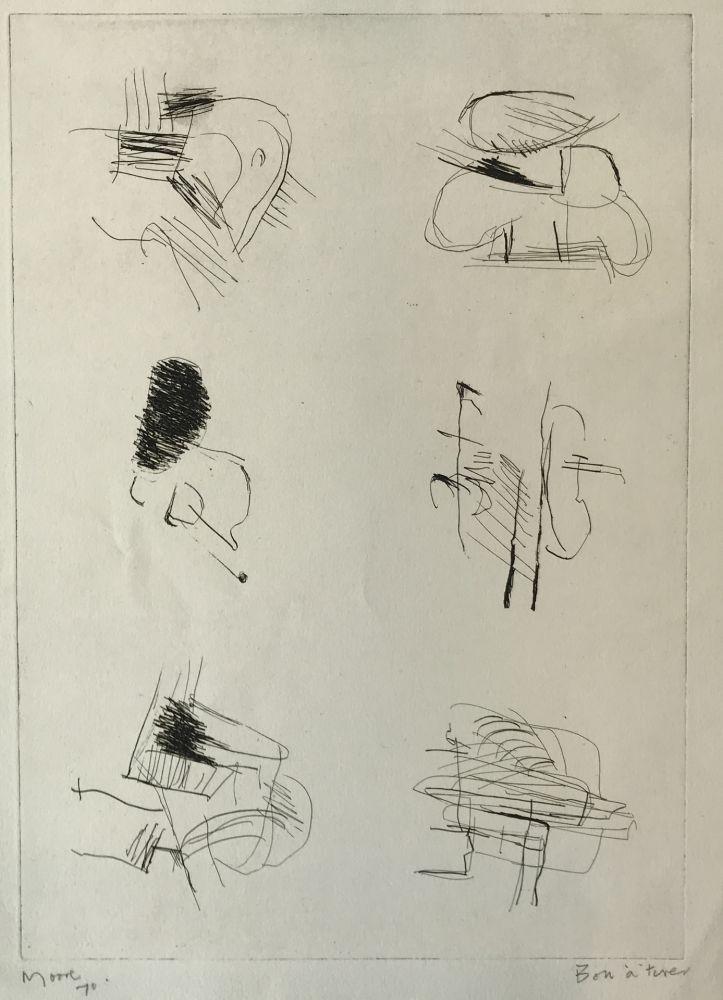 Gravure Moore - Deconstructed Figures II