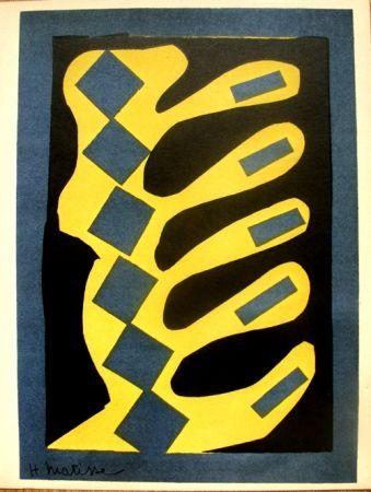 Lithographie Matisse - Decoupages pour le XXe  Siecle