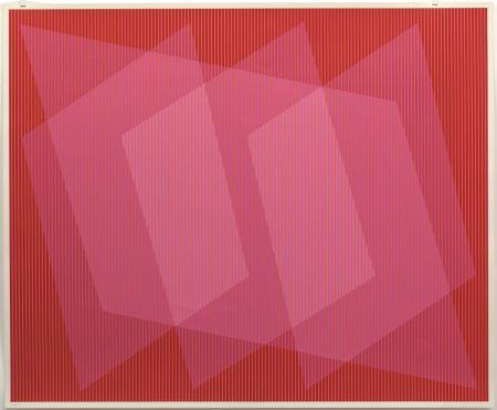 Sérigraphie Stanczak - Dedicated, from Twelve Progressions