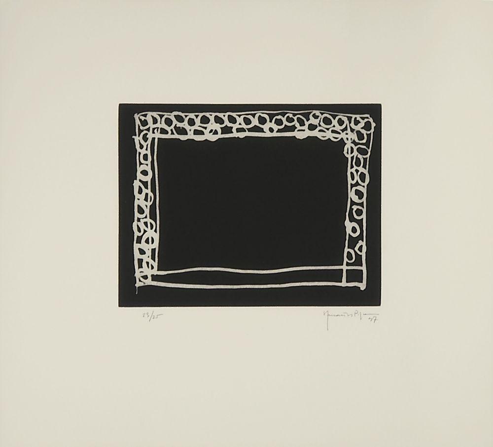Gravure Hernandez Pijuan - Del jardín IV