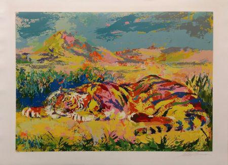 Sérigraphie Neiman - DELACROIX'S TIGER