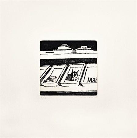 Eau-Forte Et Aquatinte Thiebaud - Delicatessen Trays