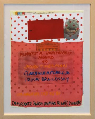Lithographie Rauschenberg - DEMOCRATIC PARTY HUMAN RIGHTS DINNER