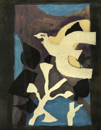 Lithographie Braque - Denners Messages