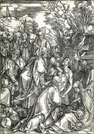Gravure Sur Bois Durer - Deposition of Christ (The Large Passion), c. 1496-97