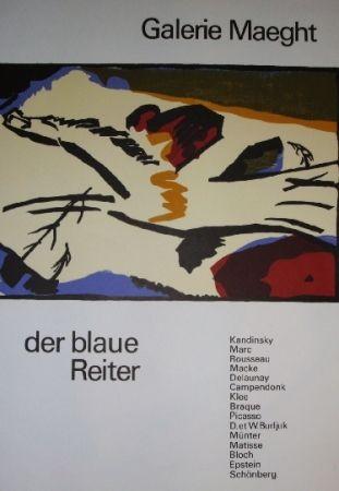 Affiche Kandinsky - Der Blaue Reiter