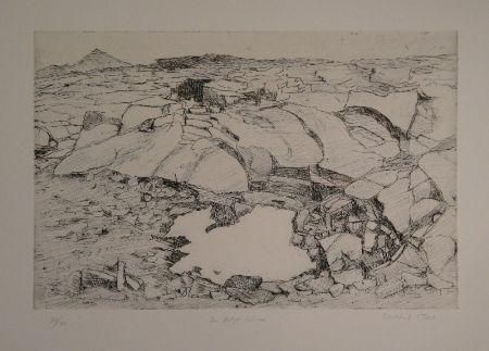 Gravure Moser - Der letzte Schnee