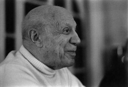 Photographie Clergue - DERNIER PORTRAIT DE P. PICASSO
