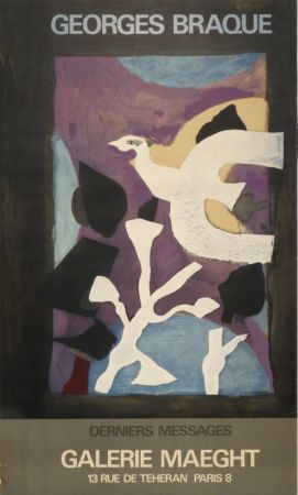 Affiche Braque - Derniers Messages