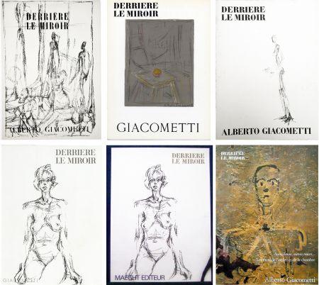 Livre Illustré Giacometti - DERRIÈRE LE MIROIR. COLLECTION COMPLÈTE DES NUMÉROS CONSACRÉS À A. GIACOMETTI (1951-1979)