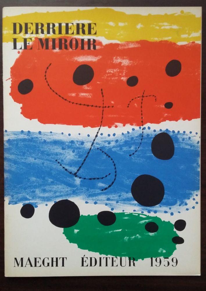 Livre Illustré Miró - DERRIÈRE LE MIROIR N°117
