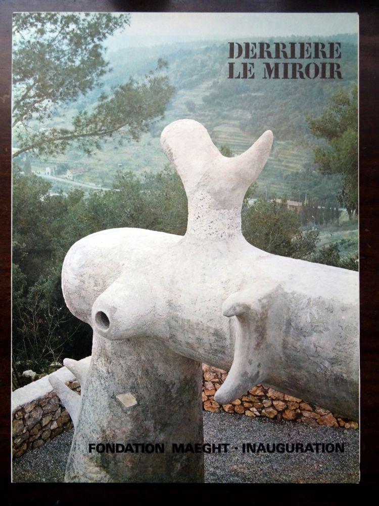 Livre Illustré Miró - DERRIÈRE LE MIROIR N°155 ''LA FONDATION MAEGHT''