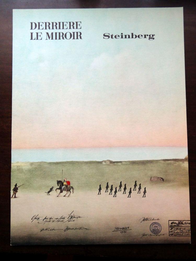 Livre Illustré Steinberg - DERRIÈRE LE MIROIR N°192
