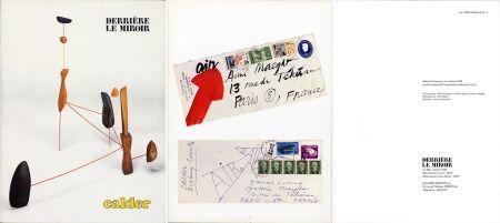 Livre Illustré Calder - DERRIÈRE LE MIROIR N°248: 30 mobiles, stabiles et machines motorisées (1981).