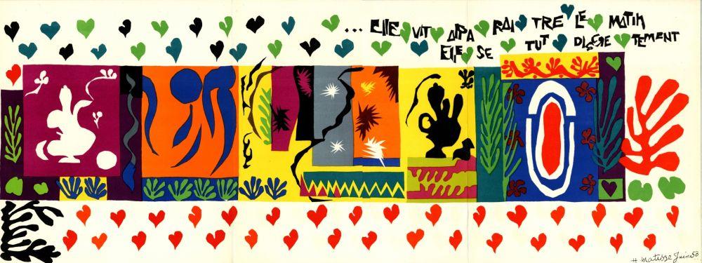 Livre Illustré Matisse - DERRIÈRE LE MIROIR N°36-37-38
