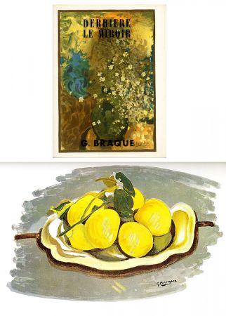 Livre Illustré Braque - DERRIÈRE LE MIROIR N°48-49. G. BRAQUE. Juin 1952.