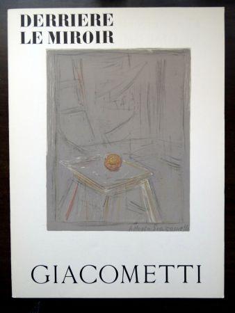 Livre Illustré Giacometti - DERRIÈRE LE MIROIR N°65