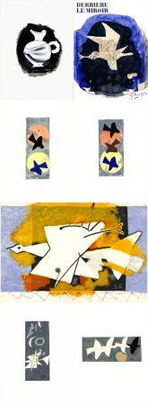 Livre Illustré Braque - DERRIÈRE LE MIROIR N° 115. BRAQUE. Juin-Juillet 1959.