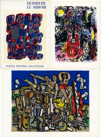 Livre Illustré Chagall - DERRIÈRE LE MIROIR N° 119. POÈTES, PEINTRES, SCULPTEURS; 1960) (CHAGALL - MIRO - BRAQUE - CHILLIDA - TAL-COAT, etc)