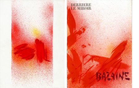 Livre Illustré Bazaine - DERRIÈRE LE MIROIR N° 215. BAZAINE. Octobre 1975 (7 lithographies originales).