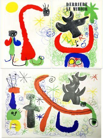 Lithographie Miró - DERRIÈRE LE MIROIR n° 29-30 - MIRO - Mai 1950.