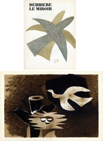 Livre Illustré Braque - DERRIÈRE LE MIROIR N° 85-86. BRAQUE. Avril-mai 1956.