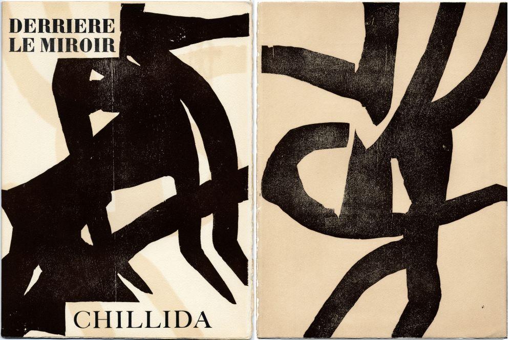 Livre Illustré Chillida - DERRIÈRE LE MIROIR N °90-91. CHILLIDA. Oct.-Novembre 1956.