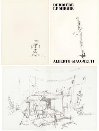 Livre Illustré Giacometti - DERRIÈRE LE MIROIR N° 98. L' ATELIER D' ALBERTO GIACOMETTI (Jean Genet). Juin 1957.