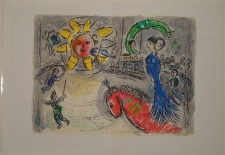Livre Illustré Chagall - DERRIÈRE LE MIROIR, No 235.
