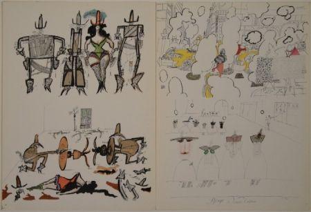 Livre Illustré Steinberg - DERRIÈRE LE MIROIR, Nos 53-54