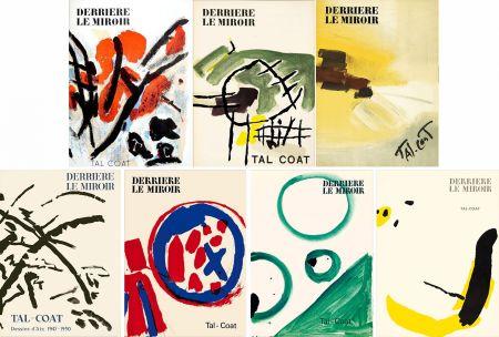 Livre Illustré Tal Coat - DERRIÈRE LE MIROIR. TAL-COAT. Collection complète des 7 volumes de la revue consacrés à PIERRE TAL-COAT (de 1954 à 1972).