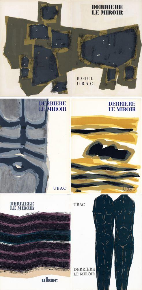 Livre Illustré Ubac - DERRIÈRE LE MIROIR. UBAC. Collection complète des 9 volumes de la revue consacrés à Raoul Ubac (de 1950 à 1982).