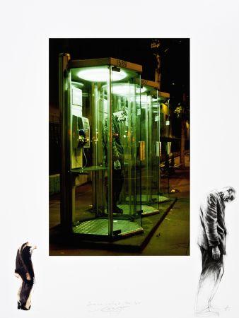 Estampe Numérique Pignon-Ernest - Derrière la vitre 7