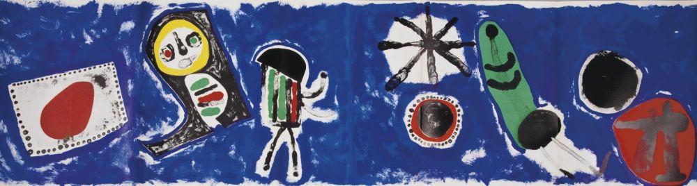 Lithographie Miró - Derrière le Miroir 57 / 58 / 59.  Joan Miró