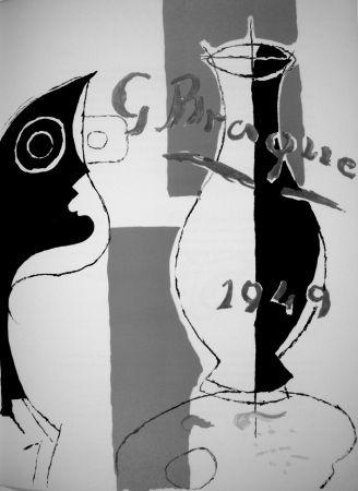 Lithographie Braque - Derrière le Miroir n.135/136