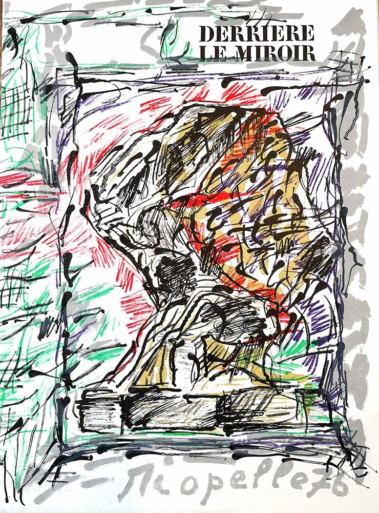 Livre Illustré Riopelle - Derrière le Miroir n.218