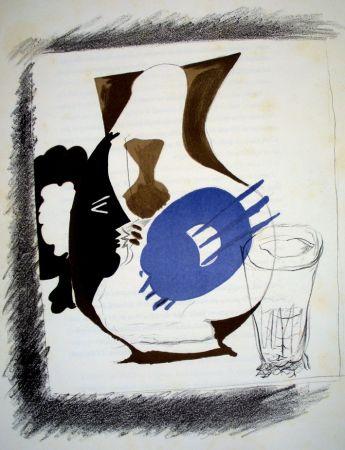 Lithographie Braque - Derrière le Miroir n.48/49