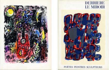 Livre Illustré Chagall - Derrière le Miroir n° 119. POÈTES, PEINTRES, SCULPTEURS; 1960) CHAGALL - MIRO - BRAQUE - CHILLIDA - TAL-COAT, etc