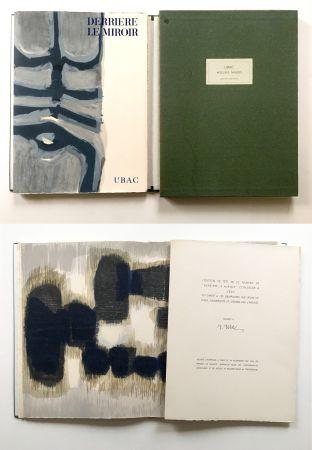 Livre Illustré Ubac - Derrière le Miroir n° 130. UBAC, PIERRES TAILLÉES (Nov. 1961). TIRAGE DE LUXE SIGNÉ.