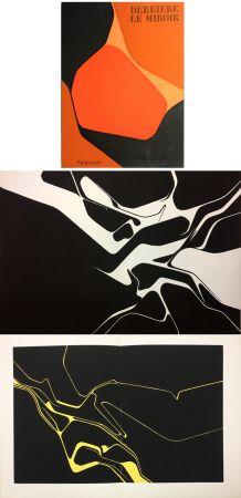 Lithographie Palazuelo - Derrière le Miroir n° 137 . PALAZUELO . Avril 1963.