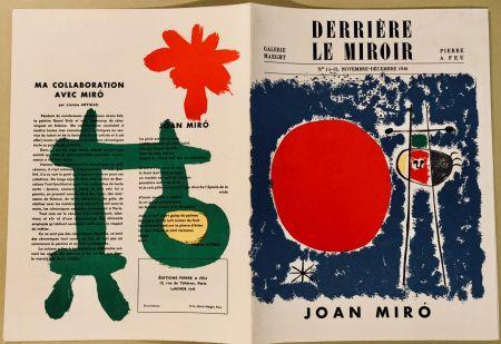Livre Illustré Miró - Derrière Le Miroir N° 14-15